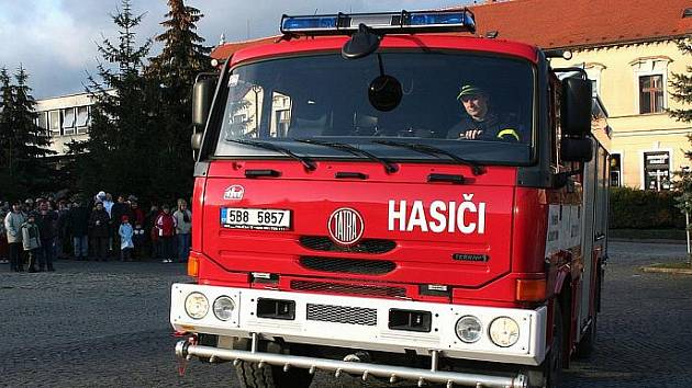 Sbor dobrovolných hasičů z Klobouk u Brna.