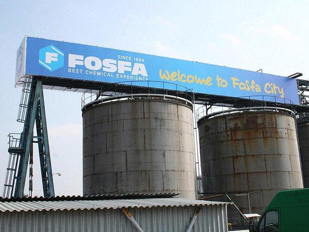 Sídlo společnosti Fosfa.