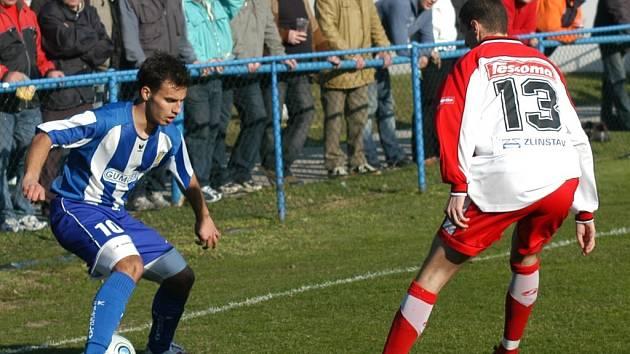 Ofenzivní hráči Břeclavi nedokázali přelstít zlínskou obranu.