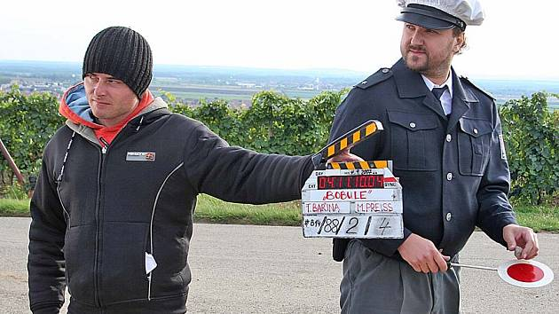 natáční u Velkých Bílovic