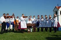 Cimbálová muzika Notečka z břeclavské městské části Charvátská Nová Ves na archivním snímku.