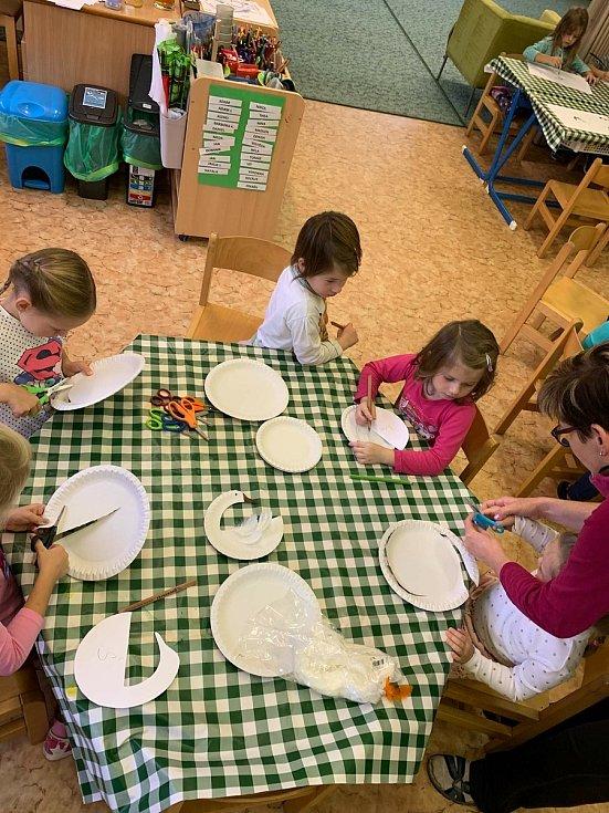 I letos děti ve valtické školce přivítaly sv. Martina. Foto: archiv školky