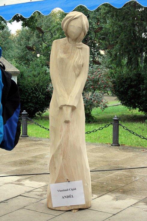 Břeclavské dřevosochání na pěší zóně u gymnázia završila v sobotu dražba. Pro břeclavský denní stacionář Utills se tak podařilo vydražit přes čtyřiadvacet tisíc korun.