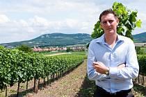 """""""S vínem mne spojují pouze kladné zážitky a vzpomínky,"""" říká technolog Mikrosvínu Vojtěch Vít."""