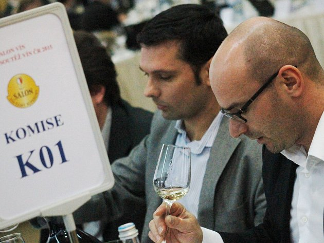 Finálové hodnocení Salonu vín se konalo v mikulovském hotelu Galant.