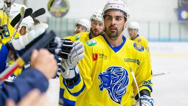 Marek Dora je nejzkušenějším hráčem břeclavských Lvů.