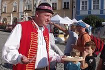 Mikulovské náměstí hostilo šestý festival sýrů.