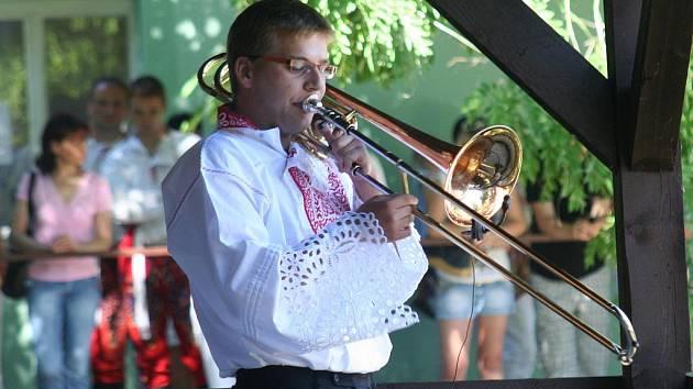 Dechovkový Túfarankafest 2010 v Rakvicích.