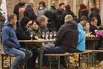 Vinaři v Moravské Nové Vsi spojili ochutnávky vína a dýní.