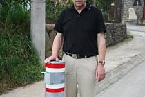 Bořetický starosta Václav Surman.