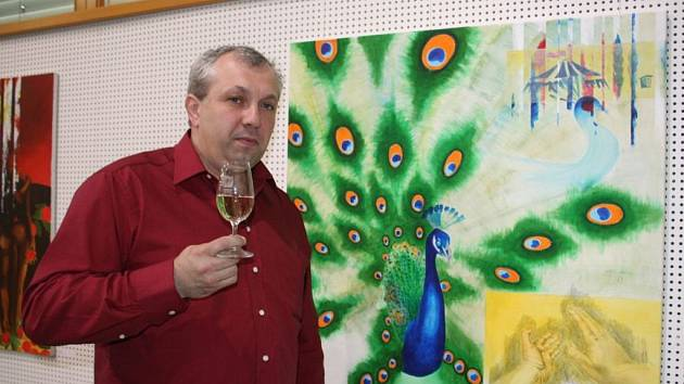 Malíř a břeclavský radní Radek Buk