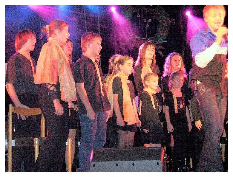 Dětský pěvecký sbor Crescendo zahraje v Ladné