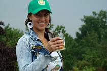 Veronika Žuravlova je pořadatelkou Mikulovského pivobraní.