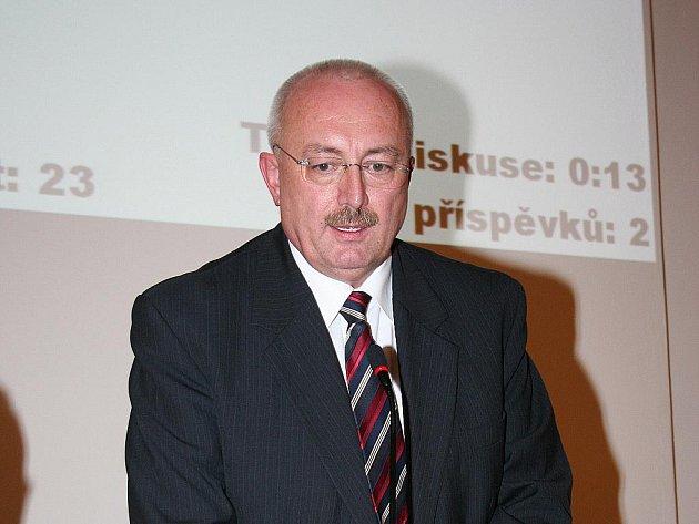 Starosta Oldřich Ryšavý.