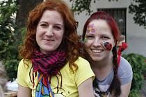 Program Buchtafestu 2015 připravily v Břeclavi Olga Slaninová s kolegyní Petrou Kouřilovou z komunitního centra Majáček.