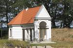 Gloriet v Širokém lese u Břeclavi je veřejnosti nepřístupný.