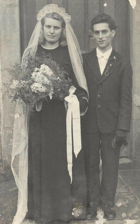 Svatba kolem roku 1918.
