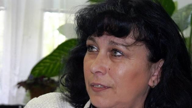Ředitelka vinařské školy ve Valticích Ivana Machovcová.