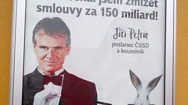 Antikampaň Rekonstrukce státu a Radima Jančury zacílila také na valtického poslance Jiřího Petrů.