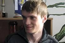 Dvacetiletý záložník MSK Břeclav Jaroslav Málek je v Břeclavi prvním rokem.