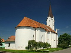 Kostel archanděla Michaela v Novém Přerově.