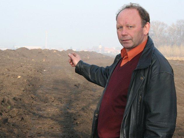 Novosedelský starosta František Trefilík.
