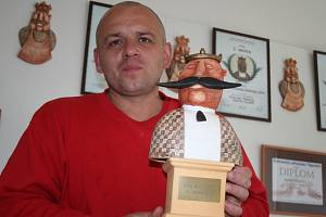 Řezník a uzenář Miroslav Hakala z Lanžhota.