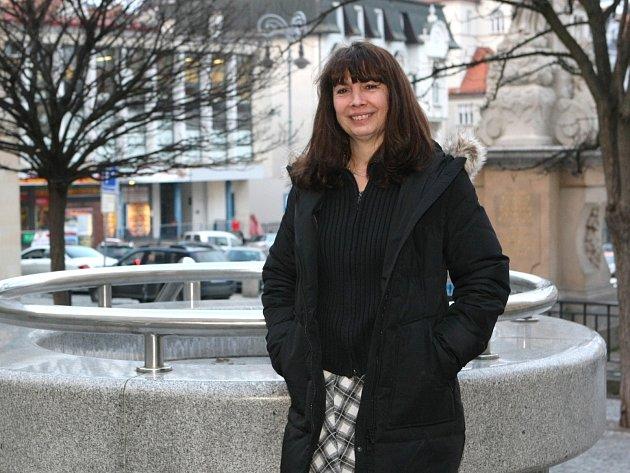 Divadelní herečka Ivana Hloužková z Mikulova je přes třicet let v angažmá brněnské Husy na provázku.