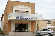 Lázeňský hotel Miroslava v Lednici.