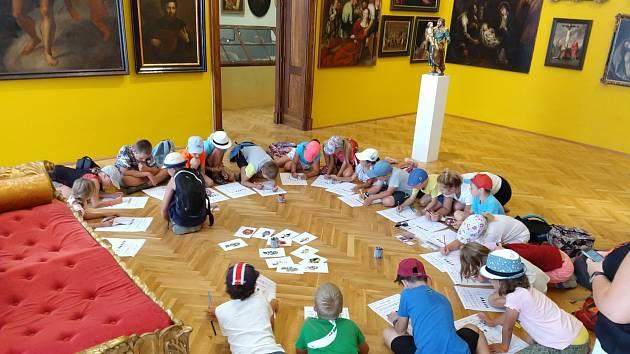 Prohlídky zámku pro děti pořádají v Mikulově