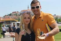 Mikulov ožil o víkendu slavnostmi a mikulovskými vinnými trhy. Do města pod Pálavou zavítal i premiér Bohuslav Sobotka.