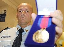 Zástupce velitele břeclavských strážníků Libor Büchler.