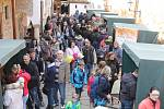 Sobotní Slavnosti mandloní a vína v Hustopečích se vydařily. Akci přálo počasí a navštívilo ji až pět tisíc lidí.
