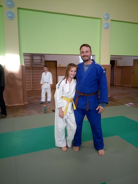 Miroslav Martuška se svou dcerou.