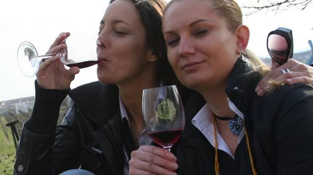 Ochutnávání vína už dávno není jen doménou mužů.