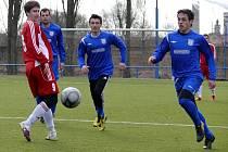 Třetiligoví fotbalisté Břeclav porazili papírově slabšího soupeře z Rače, která hraje na Slovensku o dvě třídy níž, porazili 6:0.