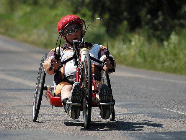 Hustopečský závod handbiků.