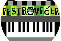 Logo festivalu Pestrovečer.