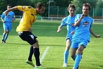 Fotbalisté Hrušek sehráli přátelské utkání s prvoligovým Slováckem.