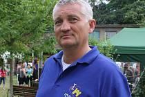 Jeden z pořadatelů Mužáckého gulášfestu v Týnci František Čech.