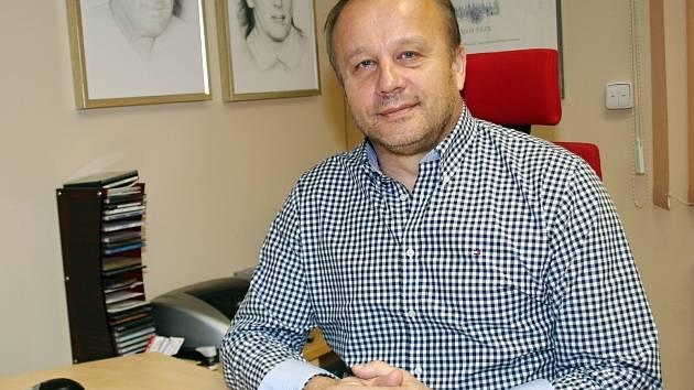 Jednatel společnosti LB BOHEMIA Lubomír Bednár.