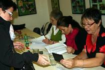 V břeclavském regionu odvolilo do sobotní desáté hodiny dopolední 43,6 procenta oprávněných voličů. Naprosto stejná byla volební účast také v okresním městě.
