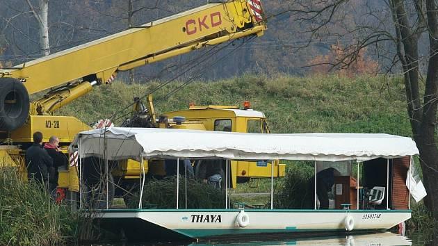 Říční lodě Lednice a Thaya mají pro letošek odslouženo.