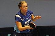 Stolní tenistky MSK Břeclav se v pátek střetly ve šlágru extraligy s Moravským Krumlovem. Šlo o souboj o druhé místo.