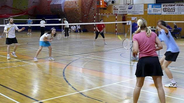 Hala Lokomotivy Břeclav byla o víkendu plná hráčů badmintonu.