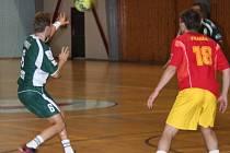 Házenkáři Legaty se tentokrát vytáhli. Se slovenským šampiónem hráli vyrovnanou partii.