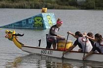 Pasohlávky hostily závody dračích lodí a festival s šedesáti druhy piv.