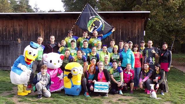 Břeclavští běžci vybrali tisíce pro postiženou Ivetu