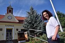 Starostka obce Jana Majerová.