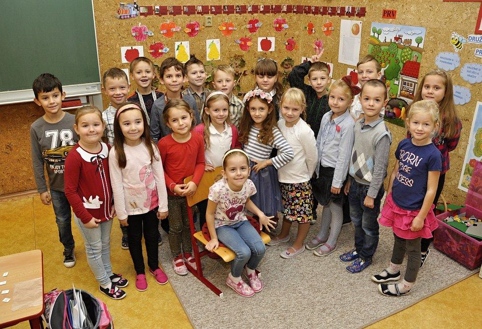 Žáky 1. A třídy základní školy Hustopeče na Komenského ulici učí Dagmar Klabusayová.